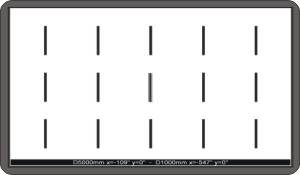 stereo test dinamico con barre