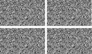 stereo test a punti random